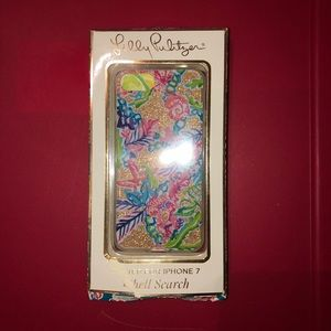 NIB Lilly Pulitzer iPhone 7 case